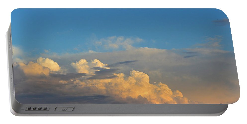 Cloud Portable Battery Charger featuring the photograph Cloudscape by Mikael Sandblom