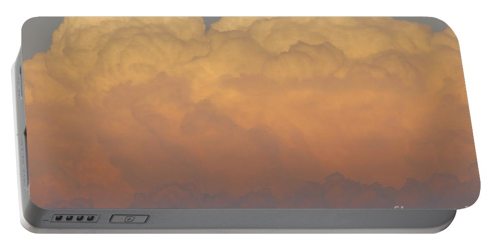 Clouds Portable Battery Charger featuring the photograph Cloudscape Work Number Six by David Lee Thompson