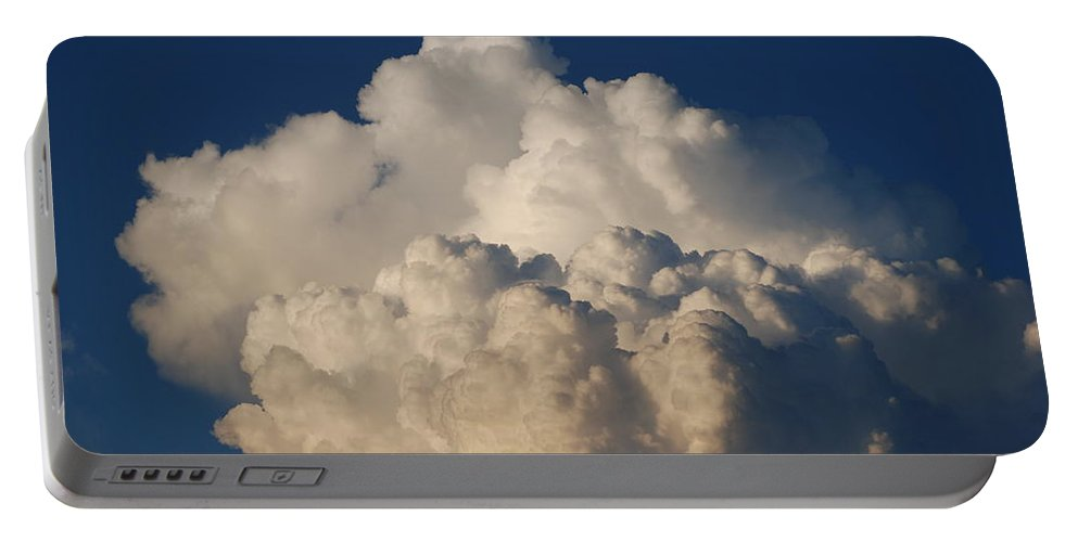 Clouds Portable Battery Charger featuring the photograph Cloudy Day by Rob Hans