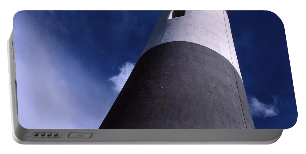 Landscape Lighthouse Fire Island Portable Battery Charger featuring the photograph Cnrf0701 by Henry Butz