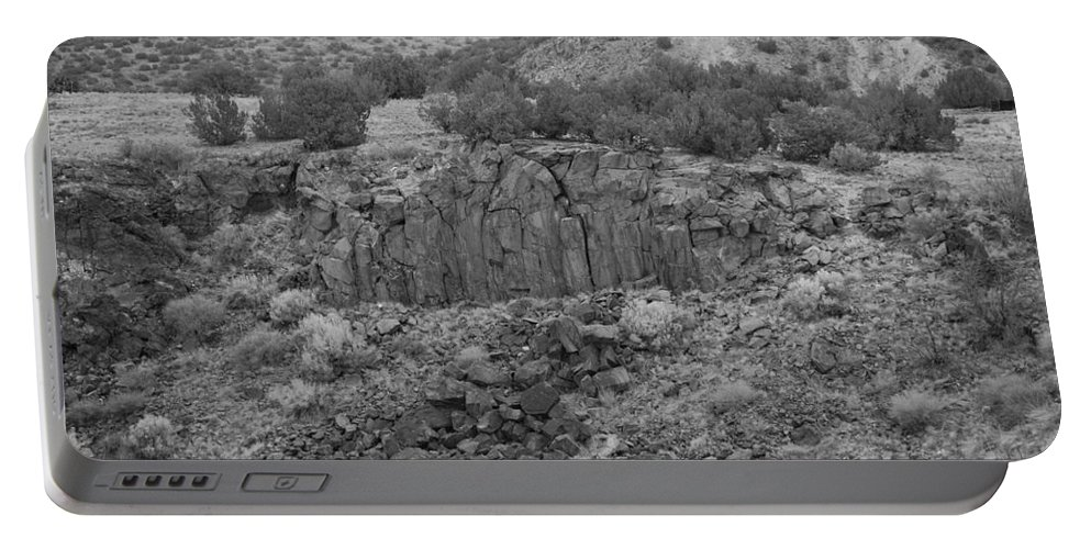 Rocks Portable Battery Charger featuring the photograph Cochiti Rocks by Rob Hans