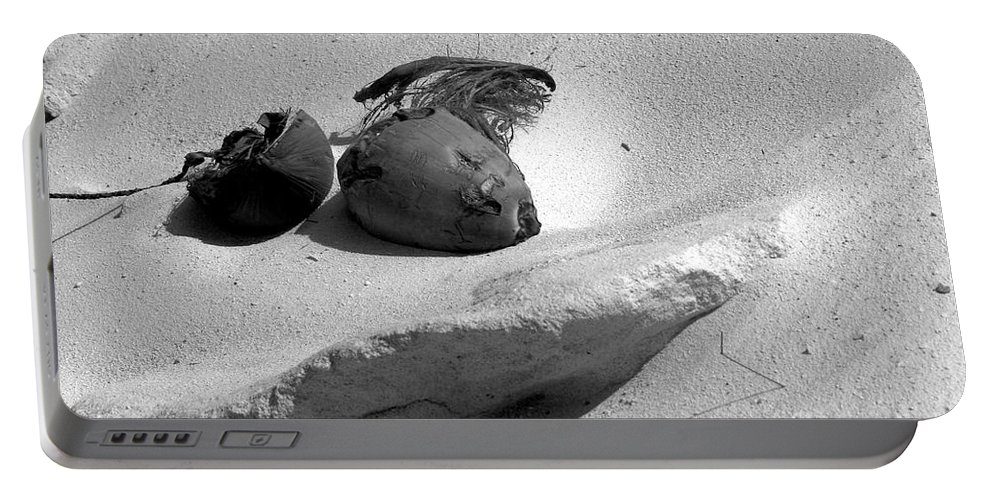 Photo For Sale Portable Battery Charger featuring the photograph Coconut On The Beach by Robert Wilder Jr