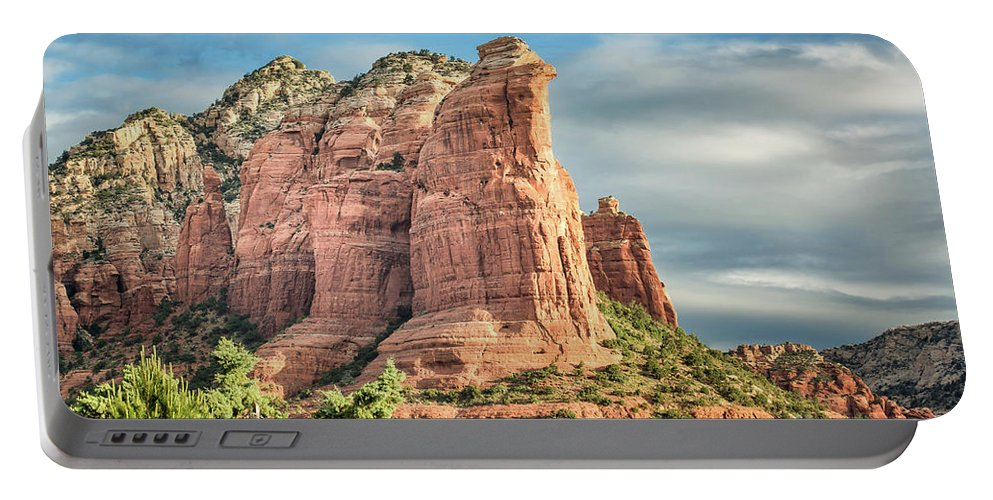 Coffee Pot Rock Portable Battery Charger featuring the photograph Coffee Pot Rock 60 by Maria Struss