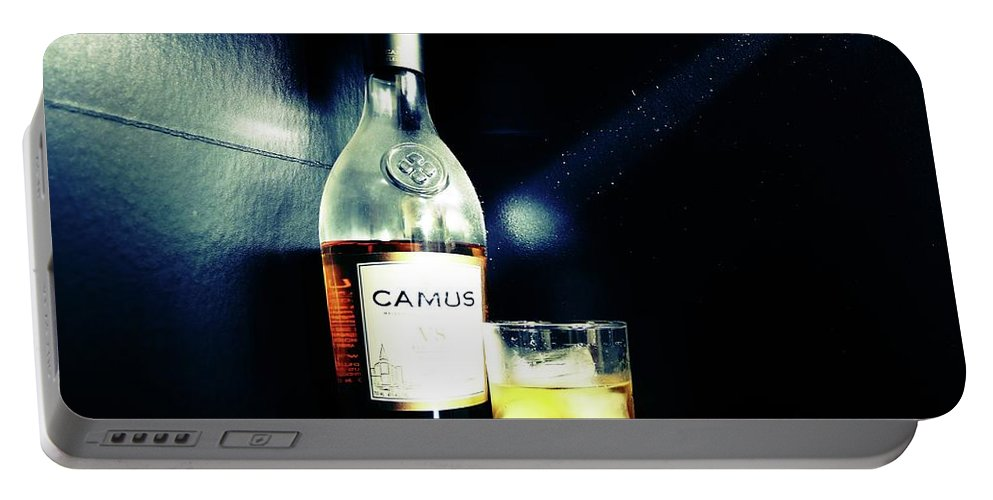 Food Portable Battery Charger featuring the photograph Cognac Camus by Nick Difi