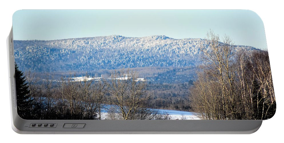 Landscape Portable Battery Charger featuring the photograph Cold Ridge by William Tasker