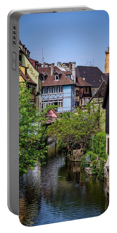 Colmar Portable Battery Charger featuring the photograph Colmar - France by Jon Berghoff