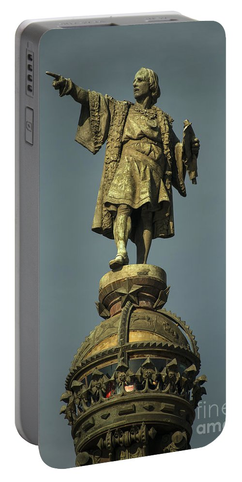 Christopher Portable Battery Charger featuring the photograph Colon by Rob Hawkins