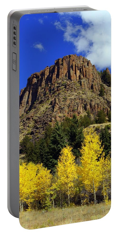 Colorado Portable Battery Charger featuring the photograph Colorado Butte by Marty Koch