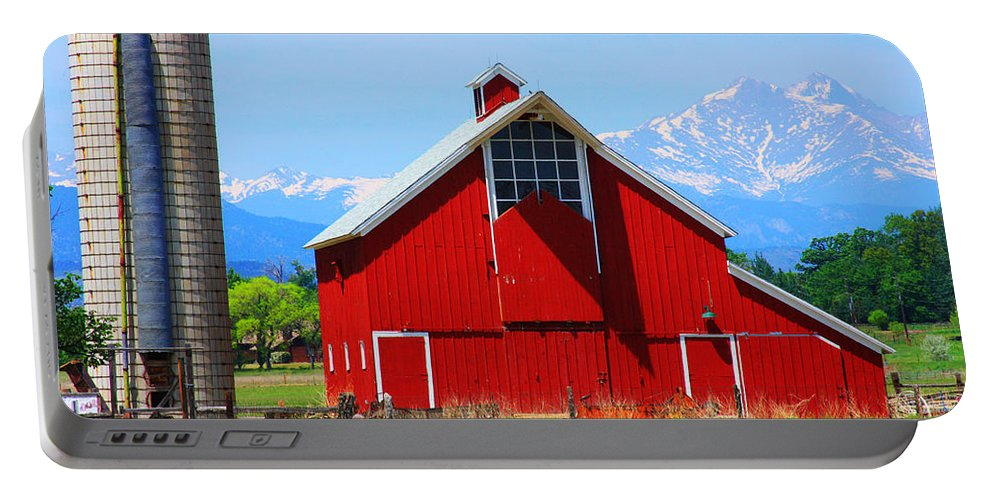 Country Portable Battery Charger featuring the photograph Colorado Country Fine Art Print by James BO Insogna