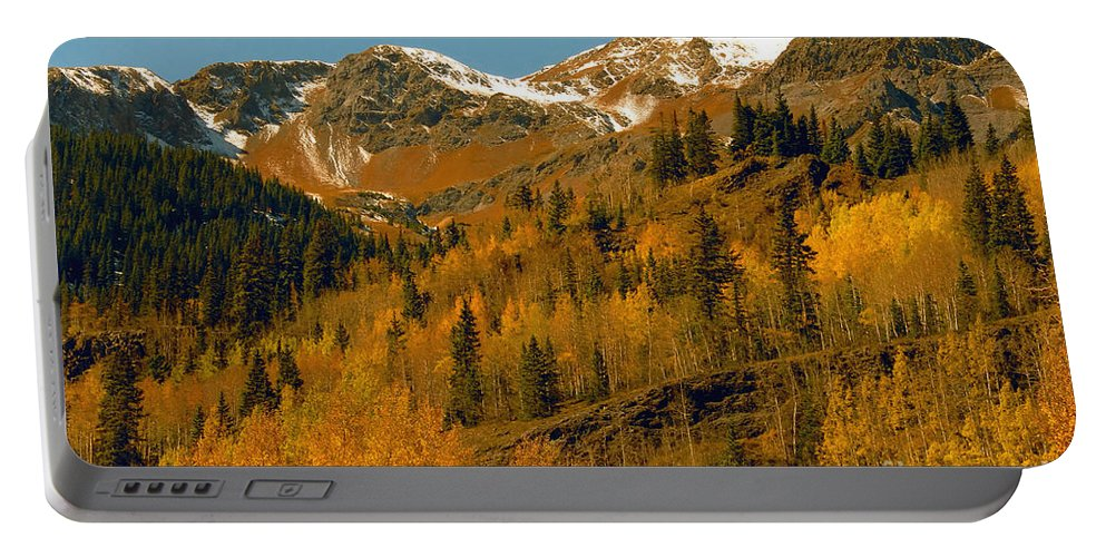 Colorado Portable Battery Charger featuring the photograph Colorado by David Lee Thompson