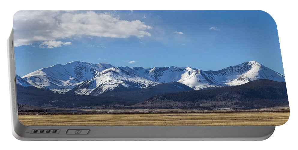 Fresh Snow Portable Battery Charger featuring the photograph Colorado Glory by Becca Buecher