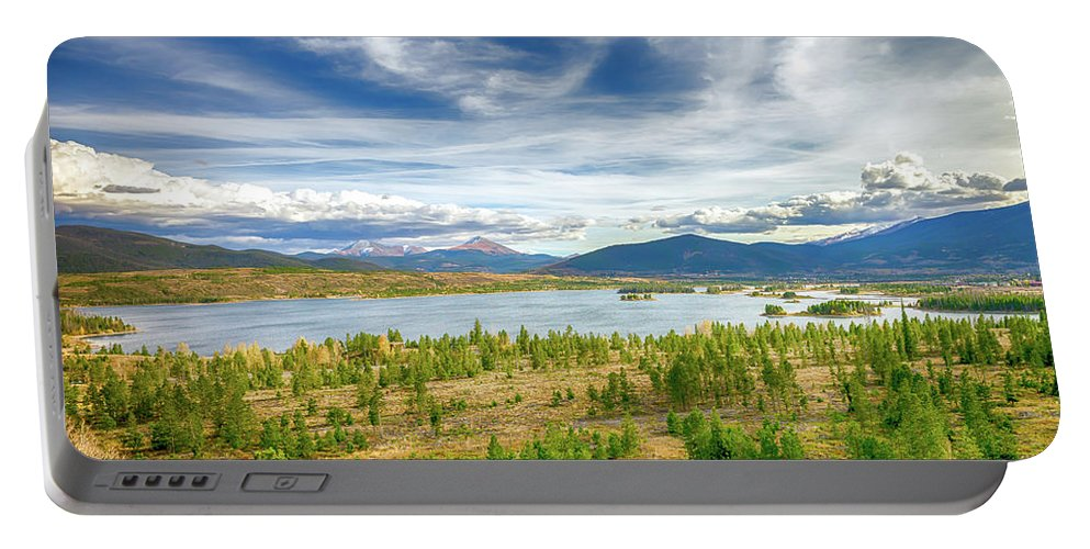 Colorado Portable Battery Charger featuring the photograph Colorado Landscape by Greg Chapel