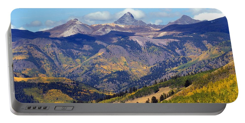 Mountains Portable Battery Charger featuring the photograph Colorado Mountains 1 by Marty Koch