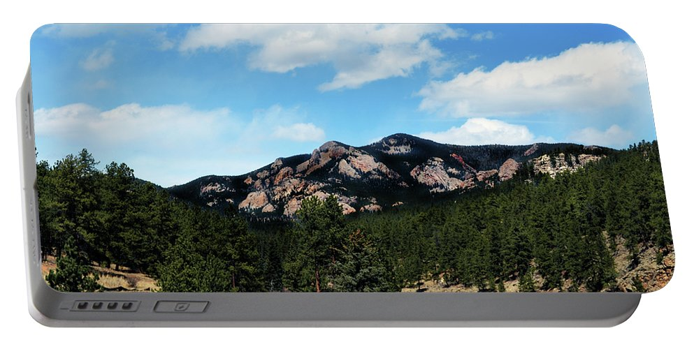 Colorado Portable Battery Charger featuring the photograph Colorado Mountains by Angelina Vick