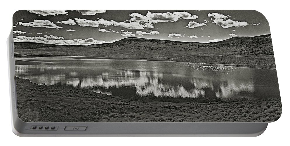 Colorado Portable Battery Charger featuring the photograph Colorado Reflections 1 by Joshua House
