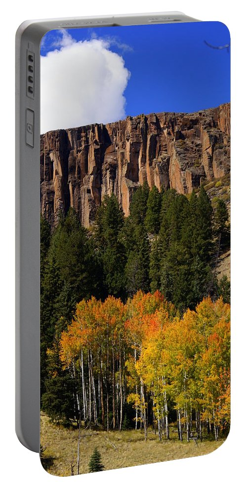 Fall Colors Portable Battery Charger featuring the photograph Colorful Canyon by Marty Koch