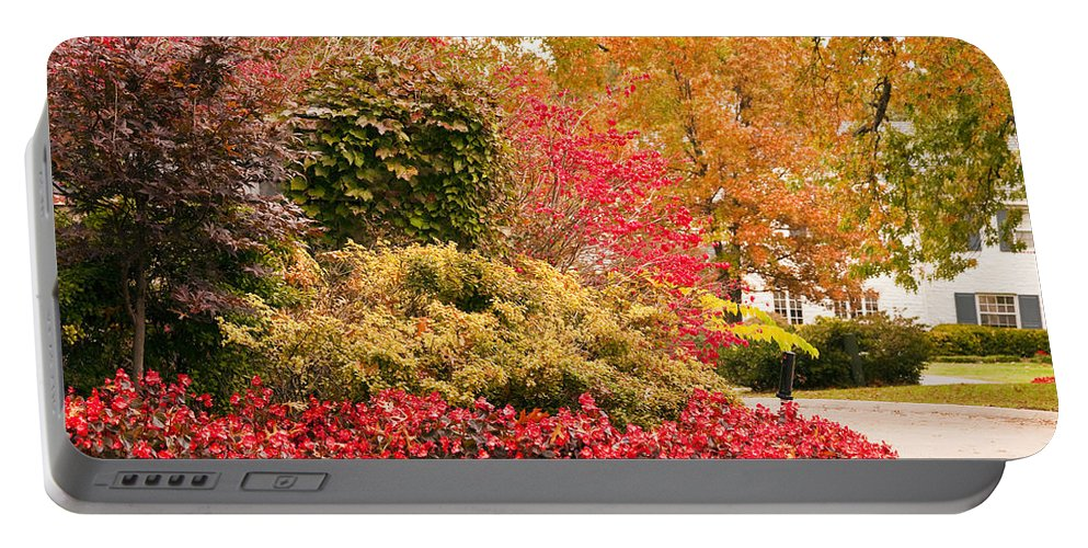 Colors Of Autumn Portable Battery Charger featuring the photograph Colors Of Autumn by Terry Anderson