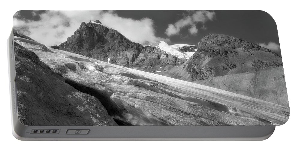 Landscape Portable Battery Charger featuring the photograph Columbia Ice Field by Keith Vanstone