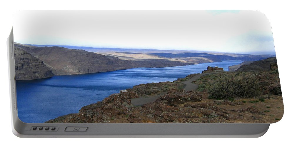 Columbia River Portable Battery Charger featuring the photograph Columbia River 2 by Will Borden