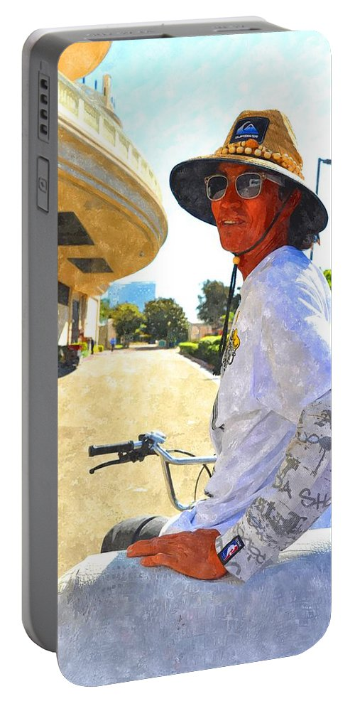 San Diego Portable Battery Charger featuring the photograph Come Ride With Me by Image Takers Photography LLC - Carol Haddon