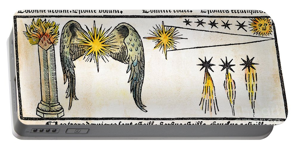 1496 Portable Battery Charger featuring the photograph Comet, 1496 by Granger