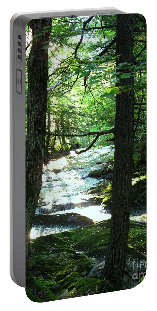 Water Portable Battery Charger featuring the photograph Peace and Comfort by Sybil Staples