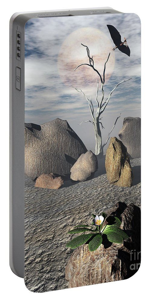 Ages Portable Battery Charger featuring the digital art Coming Of Age by Richard Rizzo