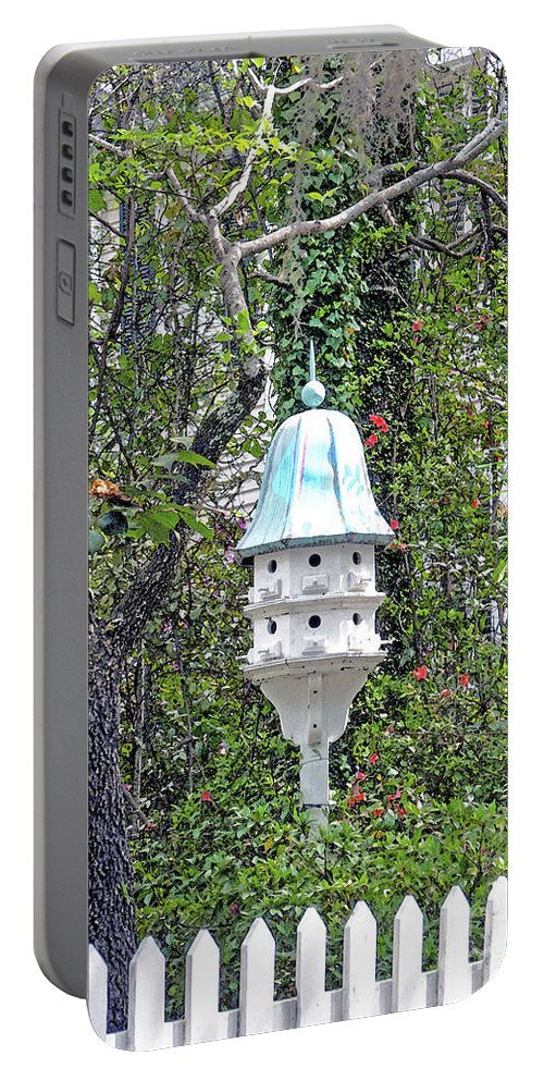 Bird Portable Battery Charger featuring the photograph Condo by Linda Vodzak