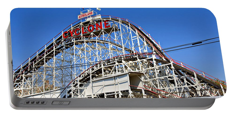 Coney Island Portable Battery Charger featuring the photograph Coney Island Memories 2 by Madeline Ellis