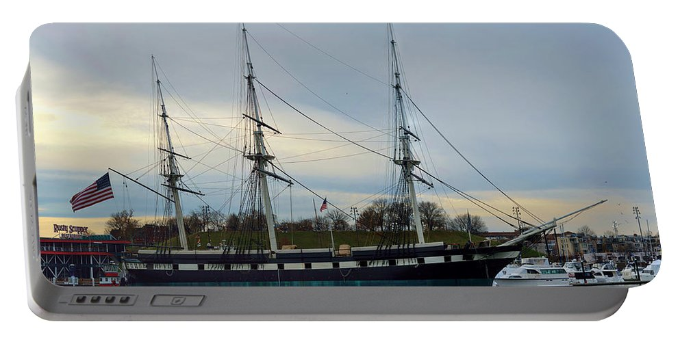 Baltimore Portable Battery Charger featuring the photograph Constellation Returns by William Bartholomew