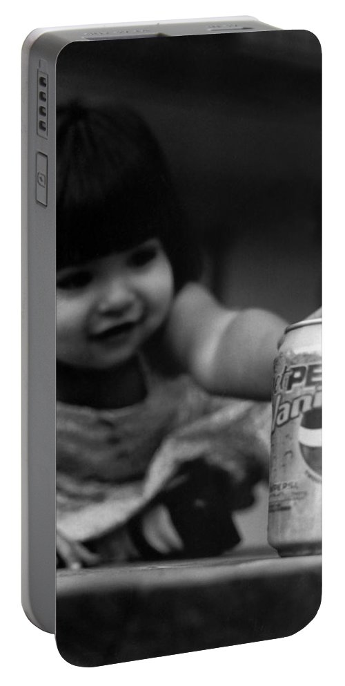 Dark Art Portable Battery Charger featuring the photograph Consumer by Peter Piatt