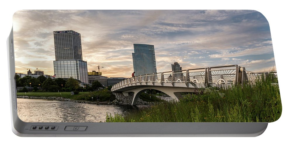 2017 Portable Battery Charger featuring the photograph Contemplation by Randy Scherkenbach