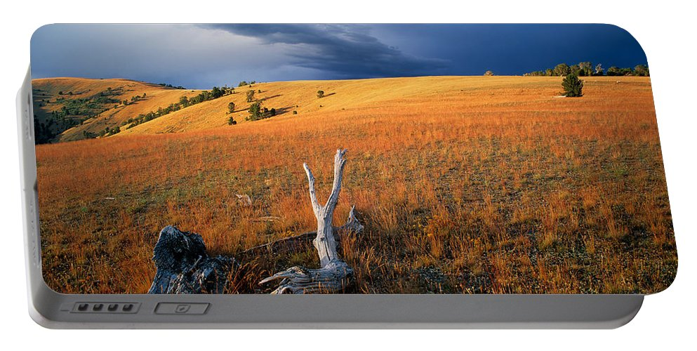 Continental Divide Portable Battery Charger featuring the photograph Continental Divide by Leland D Howard