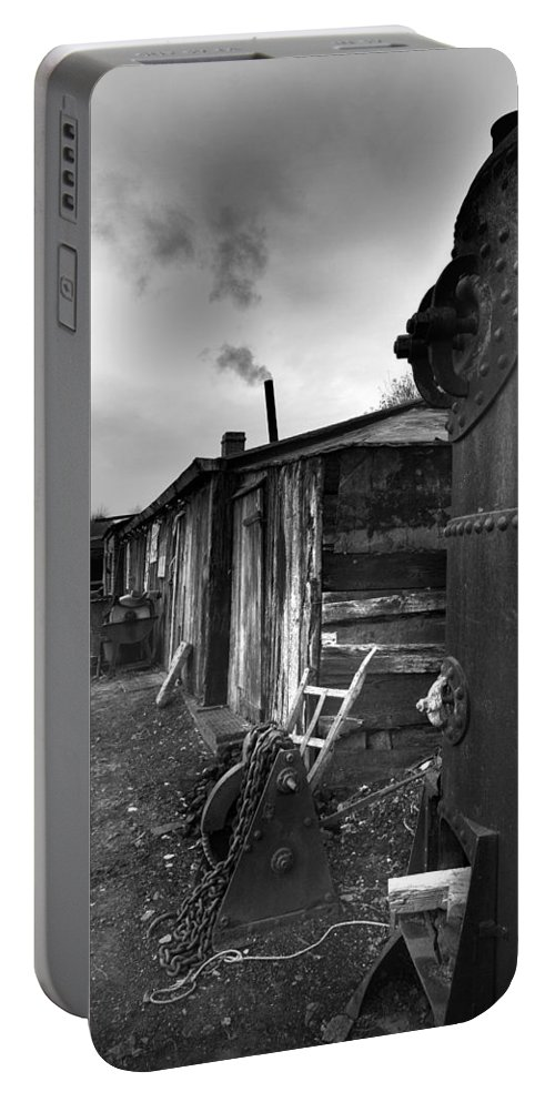 Shack Portable Battery Charger featuring the photograph Cool Shack by Bob Kemp