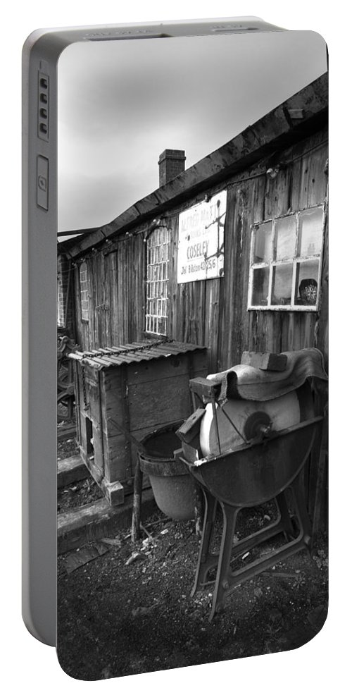Shack Portable Battery Charger featuring the photograph Cool Shack Too by Bob Kemp