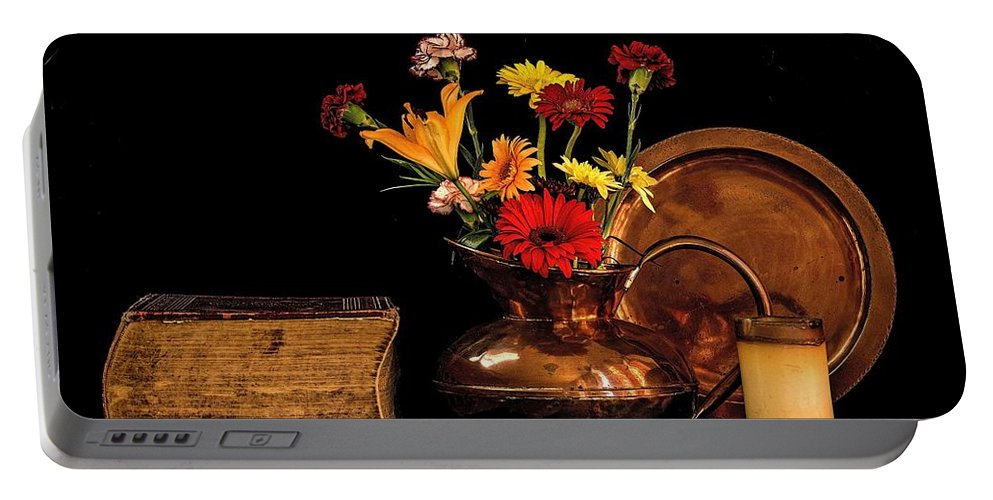 Copper Portable Battery Charger featuring the photograph Copper by Carlene Smith