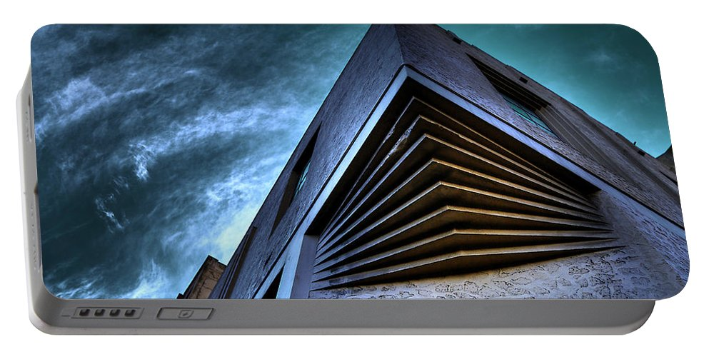 Architecture Portable Battery Charger featuring the photograph Corner Shot by Wayne Sherriff