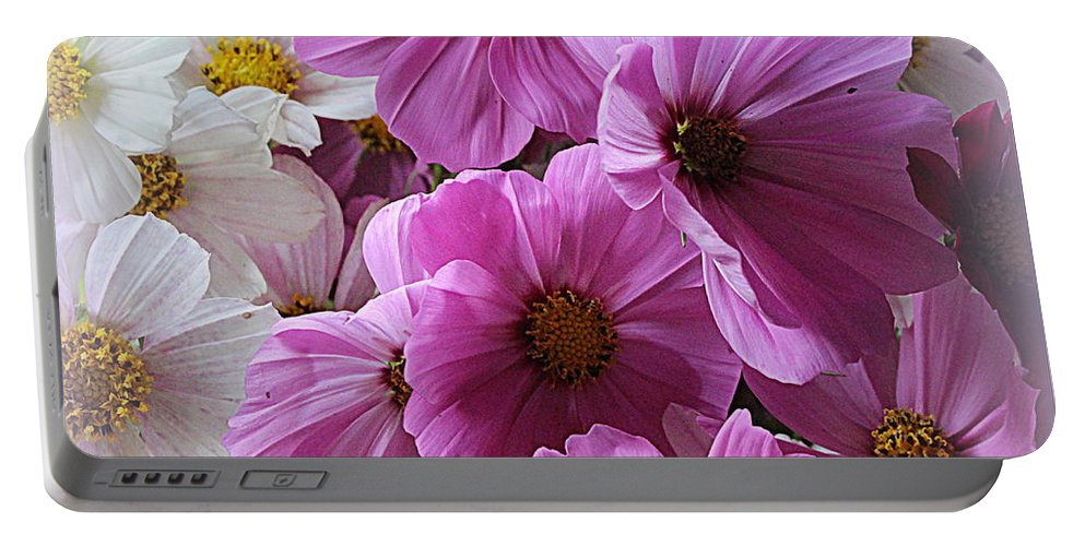 Cosmos Portable Battery Charger featuring the photograph Cosmos Fantasy by Dora Sofia Caputo Photographic Design and Fine Art