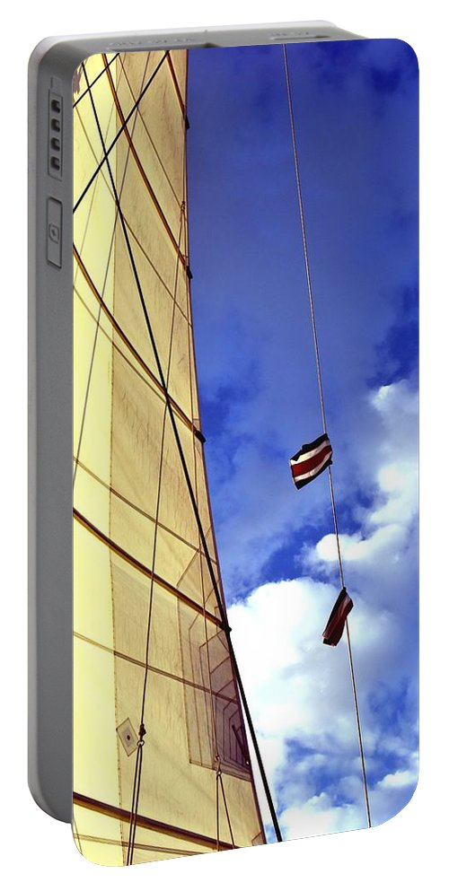 Costa Rica Portable Battery Charger featuring the photograph Costa Rican Sailing by Richard Cheski