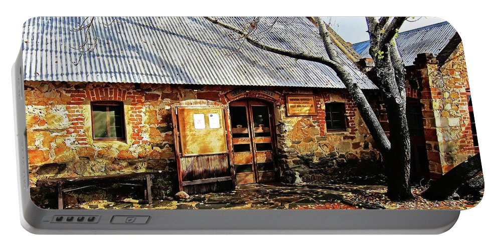 Rockford Portable Battery Charger featuring the photograph Cottage Industry by Douglas Barnard
