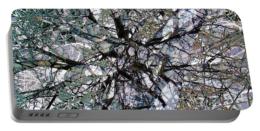 Cottonwood Portable Battery Charger featuring the photograph Cottonwood Montage by Ron Bissett