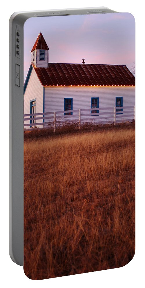Country Portable Battery Charger featuring the photograph Country House by Jill Reger