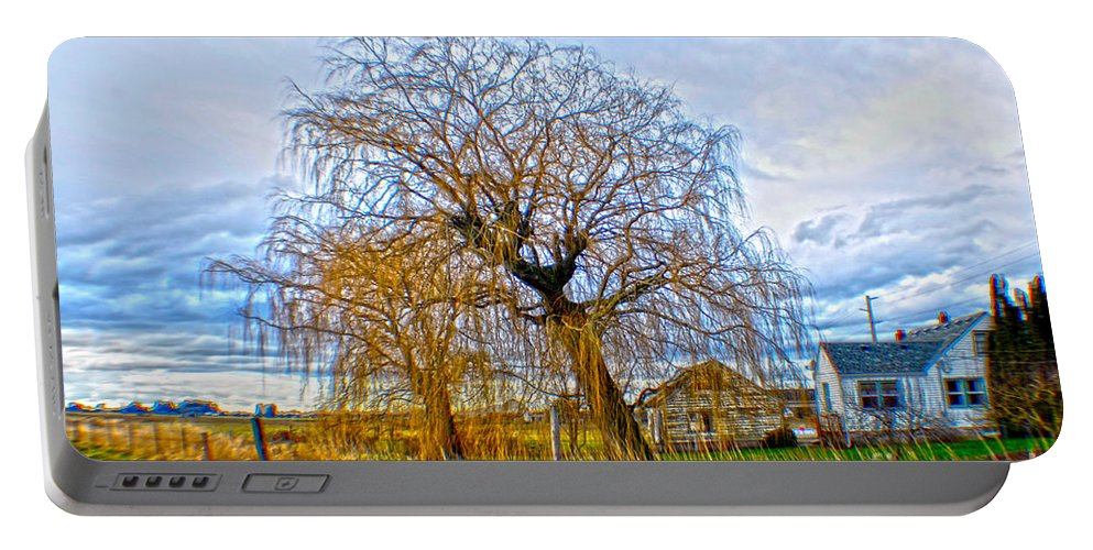 Art Portable Battery Charger featuring the photograph Country Life Artististic Rendering by Clayton Bruster