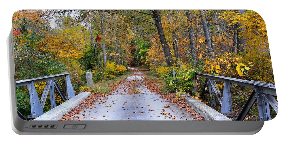 Country Road Portable Battery Charger featuring the photograph Country Road by Todd Hostetter