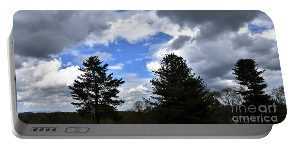 Landscape Portable Battery Charger featuring the photograph Countryside Beauty by Hughes Country Roads Photography