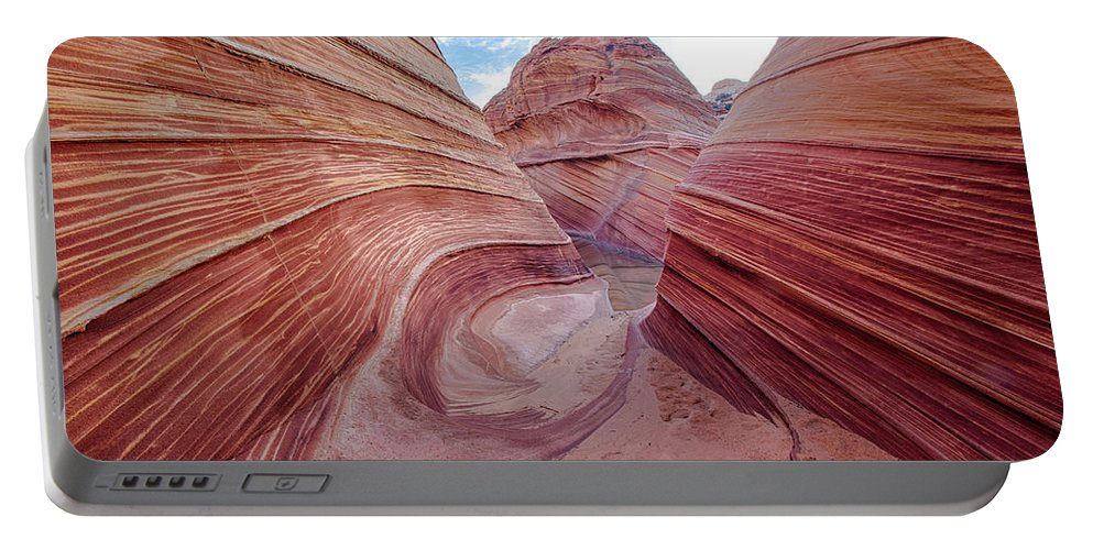 Sunset Portable Battery Charger featuring the photograph Coyote Buttes 6 by Ingrid Smith-Johnsen