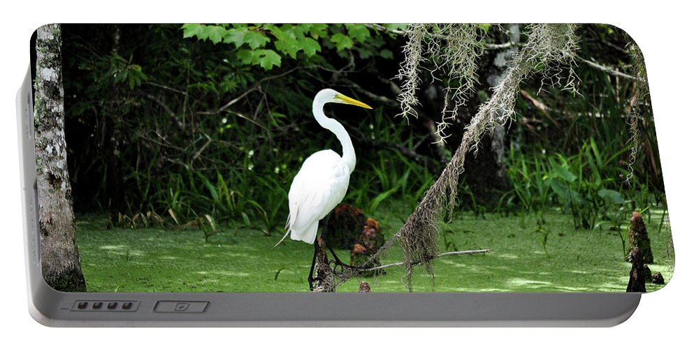 Crane Portable Battery Charger featuring the photograph Crane by Michelle Rollins
