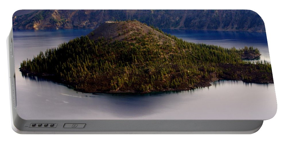 Crater Lake Portable Battery Charger featuring the photograph Crater Lake 1 by Marty Koch