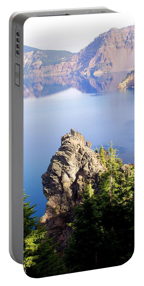 Crater Lake Portable Battery Charger featuring the photograph Crater Lake 4 by Marty Koch