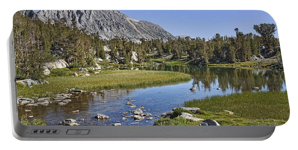 Water Portable Battery Charger featuring the photograph Creek With A View by Kelley King